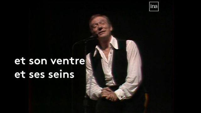 """VIDEO. Yves Montand chante le poème """"Les Bijoux"""" de Charles Baudelaire"""