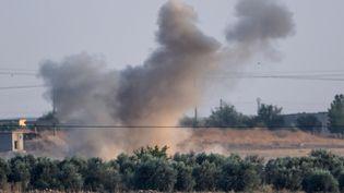 La Turquie a lancé mercredi 9 octobre une offensive dans le nord-est de la Syrie contre une milice kurde soutenue (BULENT KILIC / AFP)