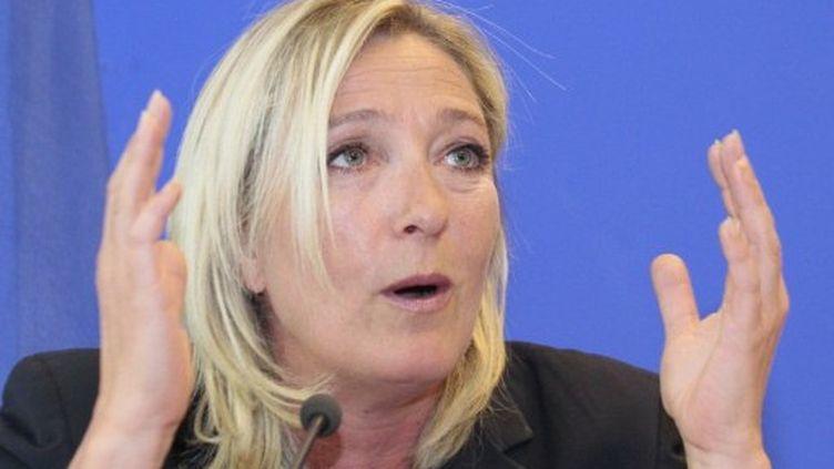Marine Le Pen (photo d'archive) (AFP - JACQUES DEMARTHON)