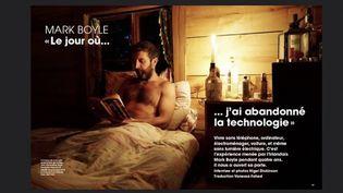 We demain : Mark Boyle, un quotidien sans technologie (FRANCEINFO)