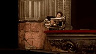 Thomas Leleu au tuba  (France 3 - Culturebox)