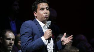 Mounir Satouri, député européen, coordinateur général de campagne de Yannick Jadot (VINCENT ISORE / MAXPPP)
