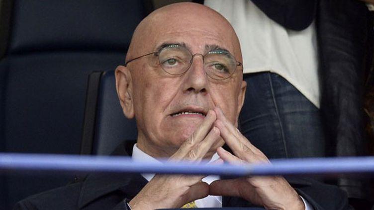 Le directeur général du Milan AC, Adriano Galliani