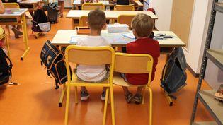 La rentrée scolaire, le 4 septembre, sera marquée par une mesure phare de la promesse de campagne d'Emmanuel Macron,le dédoublement des classes de CP dans les quartiers les plus défavorisés (illustration). (MAXPPP)