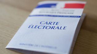 Une carte électorale peut rapporter gros le jour du vote. (CONSTANT CHERAT / HANS LUCAS / AFP)
