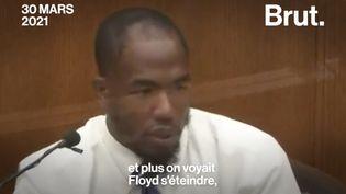 """VIDEO. Procès Chauvin : """"Plus son genou était sur son cou, plus on voyait Floyd s'éteindre"""" (BRUT)"""