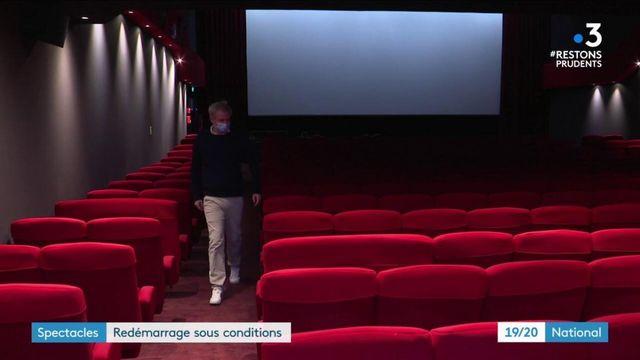 Confinement : vers une réouverture des salles de spectacle et cinémas sous conditions