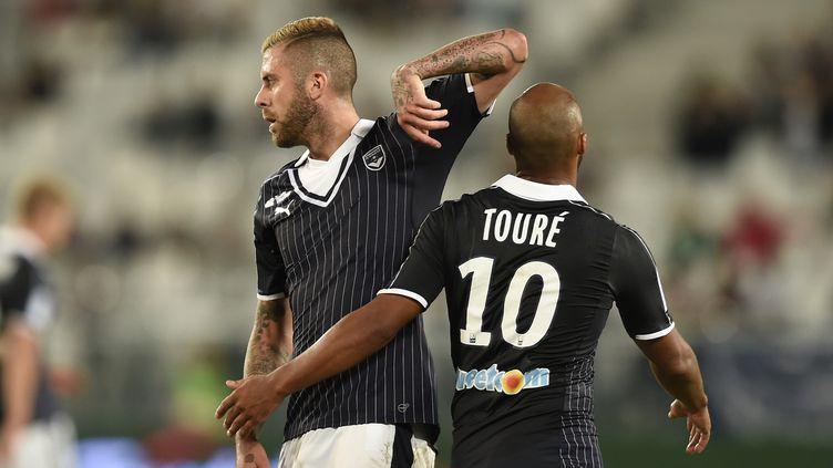 Jérémy Menez et Thomas Touré (NICOLAS TUCAT / AFP)