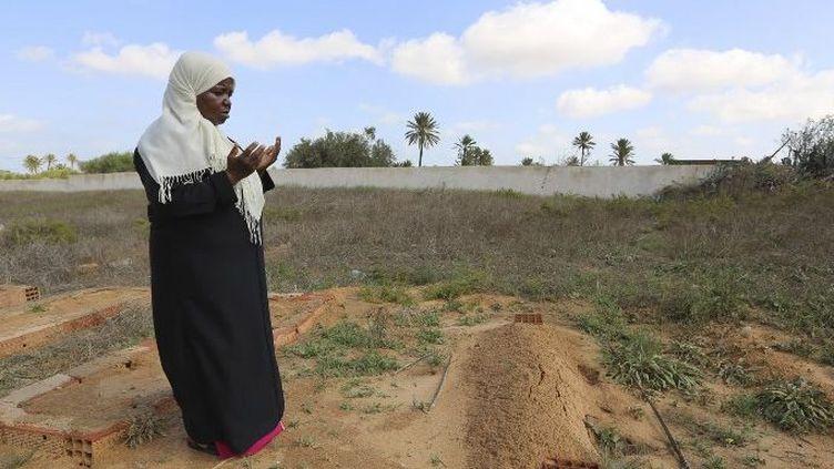 Au «Cimetière des esclaves» sur l'île tunisienne de Djerba. (FATHI NASRI / AFP)