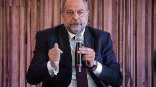 Le garde des Sceaux, Eric Dupont-Moretti aux Journées parlementaires du Modem (septembre 2020) (photo d'illustration). (DAVID THIERRY / MAXPPP)
