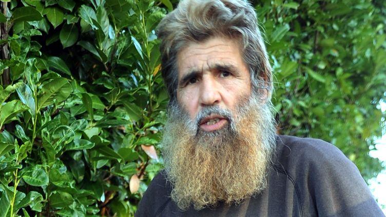 Olivier Corel,néAbdel Ilat al-Dandachi, est considéré comme le principal mentor d'un réseau salafiste, basé à Artigat dans l'Ariège. (THIERRY BORDAS / MAXPPP)