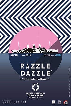 L'affiche de l'exposition Razzle Dazzle.  (DR)