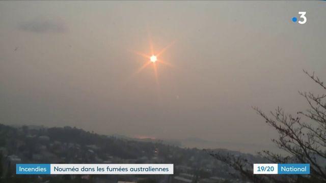 Incendies en Australie : les fumées atteignent la Nouvelle-Calédonie