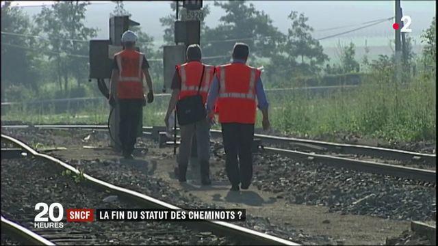SNCF : la fin du statut des cheminots ?