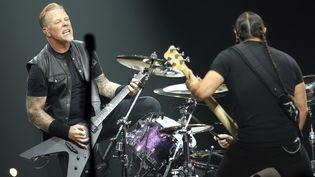 Metallica à Bercy vendredi 8 septembre 2017.  (Jean-Baptiste Quentin / PQR Le Parisien / MaxPPP)