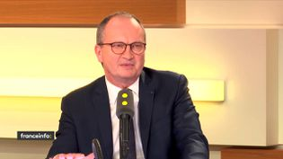 Le président de la Fédération française du bâtiment,Jacques Chanut. (RADIO FRANCE / FRANCE INFO)