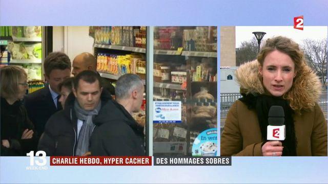 Charlie Hebdo, hyper cacher : des hommages sobres