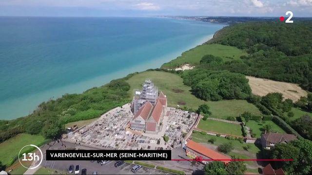 Patrimoine : l'église de Varengeville-sur-Mer menacée par l'érosion de la falaise