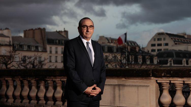 Lecoordonnateur national du renseignement,Laurent Nuñez, le 23 décembre 2020à Paris. (MAXPPP)