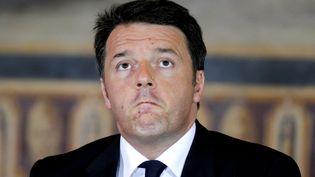 Le chef du gouvernement italien, Matteo Renzi, à Rome, le 5 mai 2016. (MAX ROSSI / REUTERS)