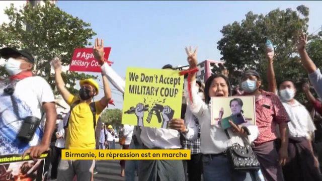 Birmanie : la répression s'accélère