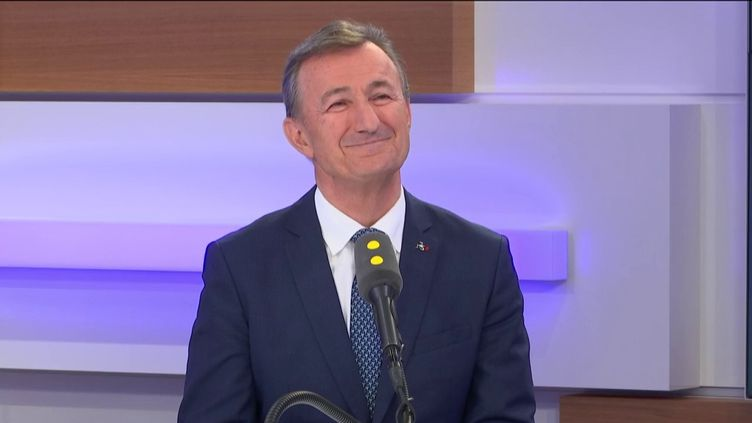 Bernard Charlès, directeur général de Dassault Systèmes, invité éco de franceinfo le 6 février 2020. (FRANCEINFO / RADIOFRANCE)