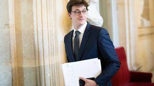 Le député de la Vienne Sacha Houlié à l'Assemblée nationale le 21 novembre 2018. (MAXPPP)