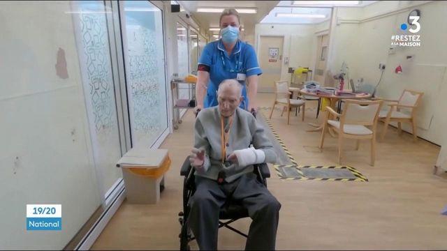 Coronavirus : un vétéran anglais de 99 ans sort guéri de l'hôpital