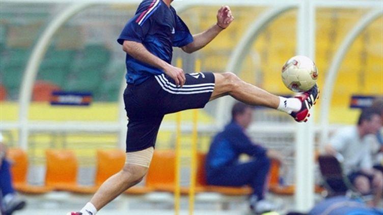 Zinedine Zidane (en 2002) (AFP/PATRICK HERTZOG)