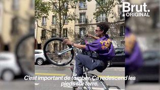 """VIDEO. """"Quand tu fais du vélo, tu te sens libre"""" : dans les coulisses de la """"bikelife"""" (BRUT)"""
