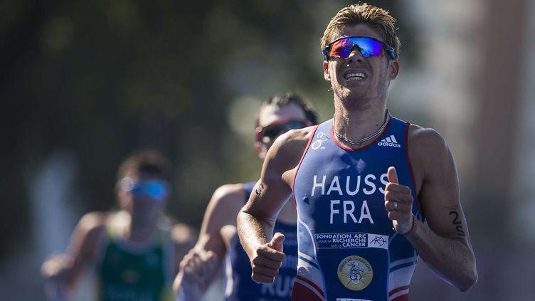 Le triathlète français David Hauss (FELIPE DANA/AP/SIPA / AP)