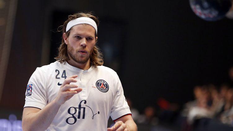 Le Danois du PSG Mikkel Hansen (KENZO TRIBOUILLARD / AFP)