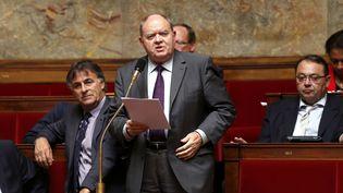 Le député PS René Dosière avant le vote des lois sur la transparence, le 25 juin 2013 à Paris. (FRANCOIS GUILLOT / AFP)