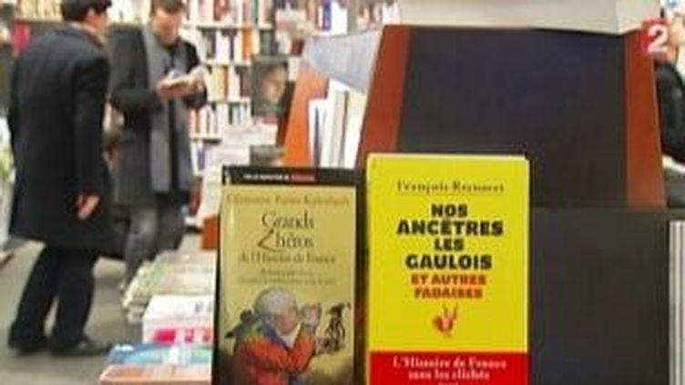 Rentrée littéraire 2011 : l'Histoire se vend bien en librairie  (Culturebox)