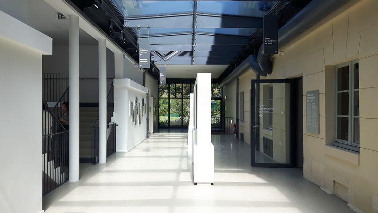 Le nouveau musée de la Libération de Paris ouvre le 25 août 2019, place Denfert-Rochereau. (ANNE CHEPEAU / RADIO FRANCE)