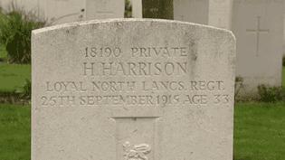 La Tombe de Henry Harrison
