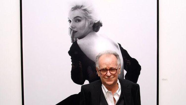 Bert Stern, dernier photographe de Marilyn Monroe, en 2011  (Neilson Barnard / GETTY IMAGES NORTH AMERICA / AFP)