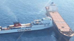 Collision bateau corse (France 2)