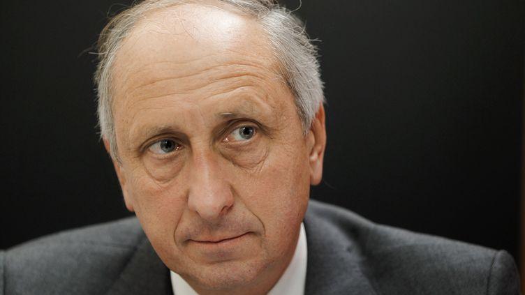 Le procureur Philippe Courroye dans son bureau à Nanterre le 18 novembre 2010. (JOEL SAGET / AFP)