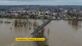 Les crues dans le Lot-et-Garonne (FRANCEINFO)