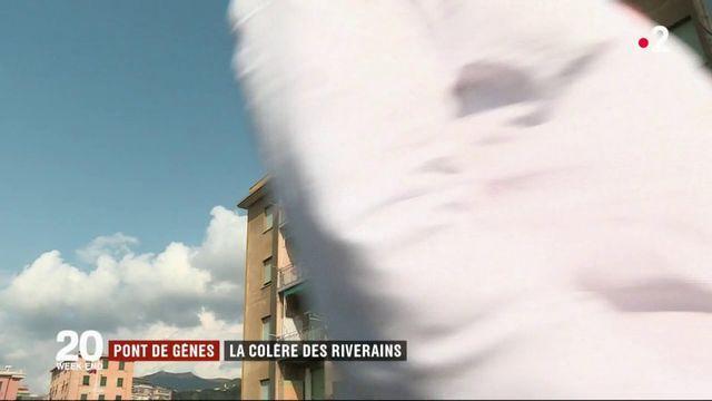 Gênes : un mois après l'effondrement du pont