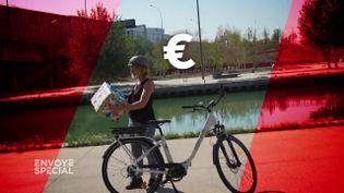 Envoyé spécial. Prime VAE : peut-on vraiment recevoir 500 euros d'aide de la Ville de Paris pour pédaler au bord de la mer ? (ENVOYÉ SPÉCIAL  / FRANCE 2)