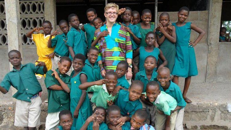Volontaire britannique ayant enseigné trois mois dans une petite école au Ghana Charlie/Flickr,CC BY-ND (Charlie/Flickr, CC BY-ND)