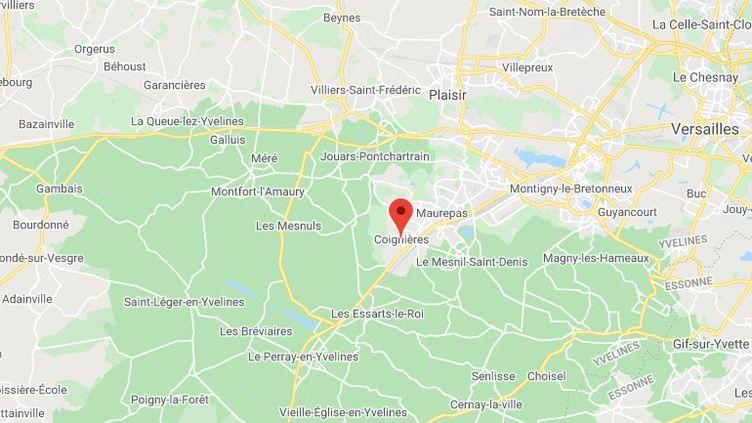 Coignières dans les Yvelines. (GOOGLE MAPS)