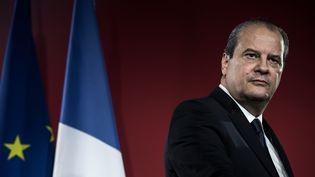 Jean-Christophe Cambadélis a appelé au calme, mercredi 25 janvier 2017, les deux finalistes de la primaire de la gauche. (PHILIPPE LOPEZ / AFP)