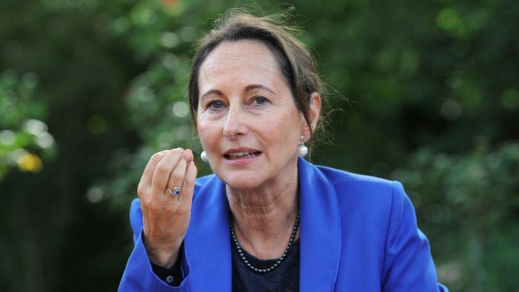 Ségolène Royal, ministre de l'Ecologie, à La Rochelle (Charente-Maritime), le 22 août 2014. (XAVIER LEOTY / AFP)