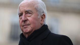 Édouard Balladur, le 17 janvier 2014,à Paris. (KENZO TRIBOUILLARD / AFP)