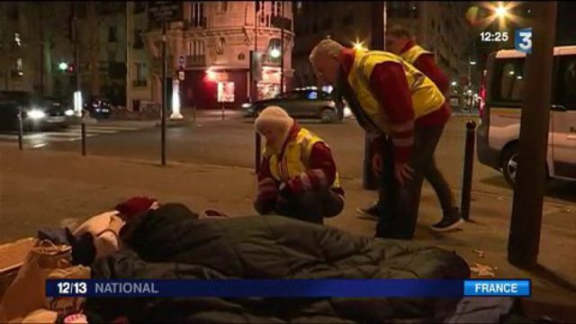 Vague de froid : une période difficile pour les sans-abri