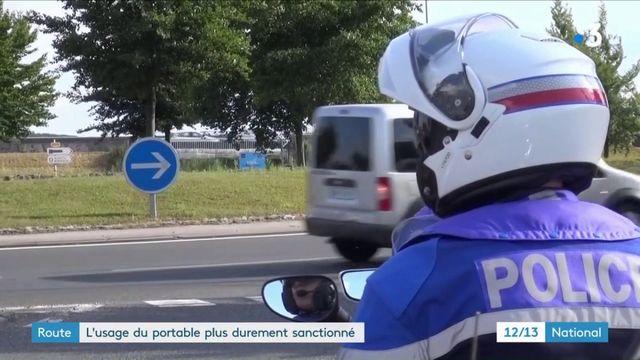 Sécurité routière : l'usage du téléphone au volant bientôt plus durement sanctionné