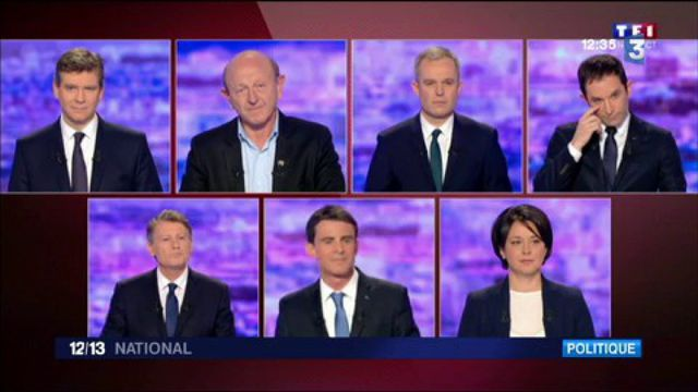 Primaire de la gauche : les meilleurs moments de ce premier débat